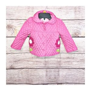 Gymboree Quilted Jacket  Size 2T-3T